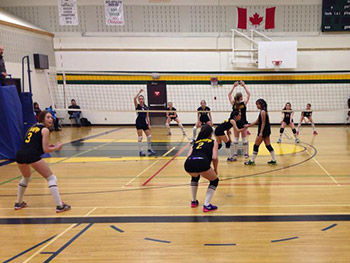 Banff High School Volleyball