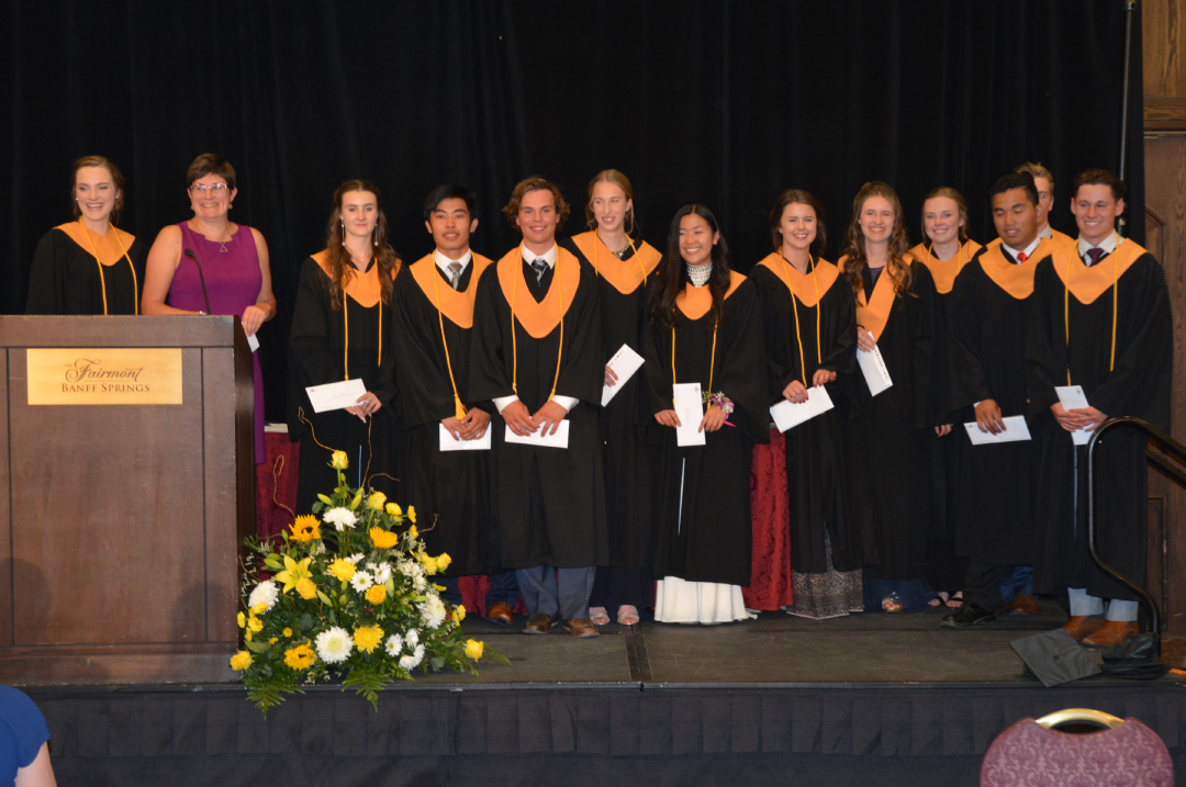 Banff Community High School Graduates