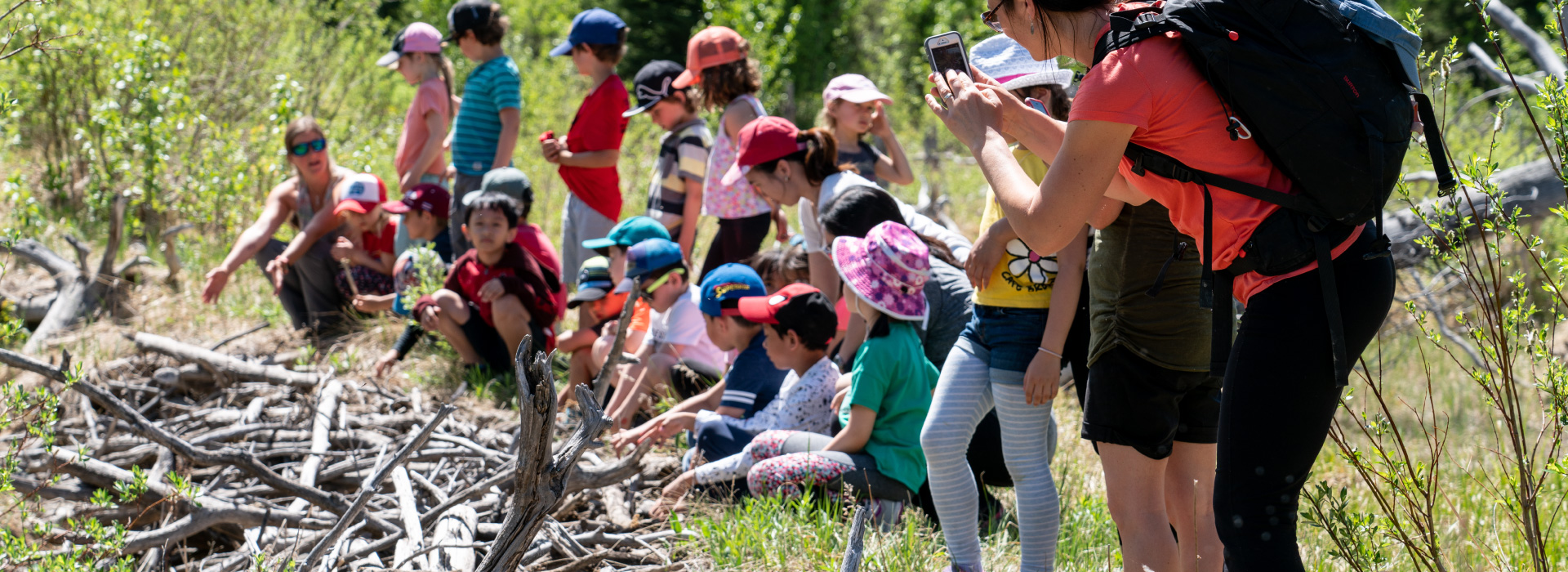 Nature Explorers with Banff Elementary School