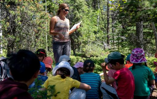 Banff Elementary School Nature Explorers