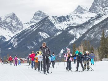 Banff Elementary School Outdoor Persuits